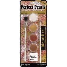 METALLICS Perfect Pearls 4-Color Pigment Set - Ranger