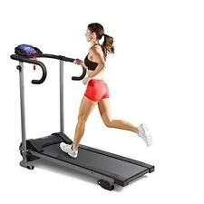 Fitness Folding Manual Incline Electric Motorised Treadmill Running Machine