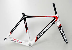 STRADALLI FULL CARBON ROAD BIKE BICYCLE FRAME RED PRO RP14 BB30
