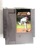 Roger Clemens MVP Baseball ORIGINAL NINTENDO NES GAME Tested WORKING Authentic!