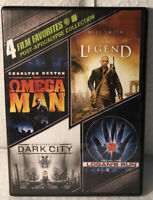Post-Apocalypse Collection: 4 Film Favorites (DVD, 2013, 4-Disc Set)