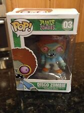 Funko Pop Vinyl Figure DISCO ZOMBIE #03 Plants vs Zombies Vaulted/Retired NEW
