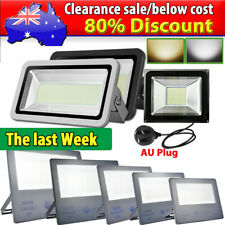 10W- 1000W LED Flood Light Cool Warm White Work Wall Spot Floodlights IP65 240V