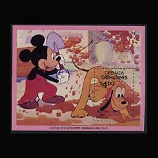 Grenada Grenadines, Sc #429, MNH, 1981, S/S, Disney, Pluto's Dream House, DI107F