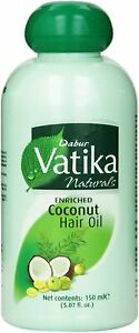 Dabur Vatika Enriched Coconut Hair Oil 150ml sooth and protect from dryness