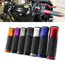 "Motorcycle 7/8"" Handle Bar Rubber Hand Grips For Suzuki GSX-R Honda CBR Sport US"