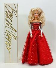 Ooak Bruce A. Nygren Barbie Doll Red Silver Dress Blond Hair