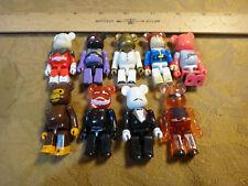 Meicom Toys Kubrick Bearbrick Lot Of 9 Figures - Flashdance, The Godfather, etc.