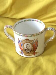 Anchor China  King Edward VIII 1937 Coronation Loving Cup