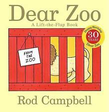 Dear Zoo: A Lift-the-flap Book by Rod Campbell (Board book, 2007)
