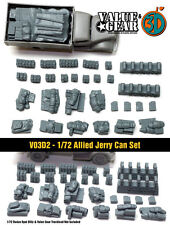 1/72 American Jerry Can Set - Value Gear War Gaming Dioramas - Brail Scale