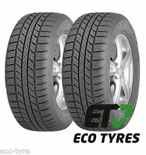2X Tyres 255 65 R17 110T Goodyear Wrangler HP A/W M+S All Weather E C 71dB
