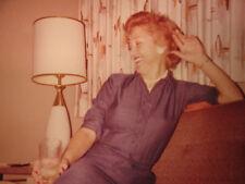 VINTAGE KODAK AMERICAN BEAUTY REDHEAD SANDRA LOADS OF LOVE OLA MID MOD PHOTO
