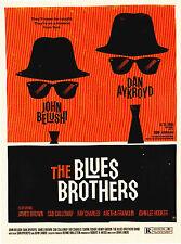Olly Moss Blues Brothers movie Postcard Mondo Alamo Drafthouse Rolling Roadshow