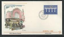 FINLAND # 693-694  EUROPA 1984 FLEETWOOD FIRST DAY COVER