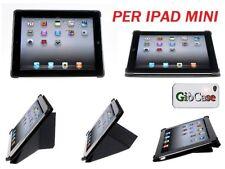 Custodia per Apple iPad mini coprente fronte e retro in ecopelle stand magnetico
