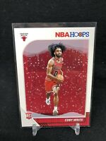 2019-20 Panini NBA Hoops Winter Coby White Rookie RC #204, Chicago Bulls AA21