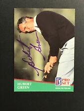 Hubert Green autographed 1991 PGA Tour Pro Set DECEASED #101
