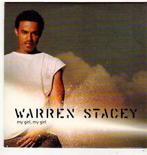 (FI964) Warren Stacey, My Girl, My Girl - 2001 DJ CD
