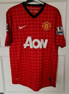 Manchester United Official Nike Home Shirt 2012-13 Printed 20 V. Persie Size M