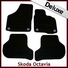 Skoda Octavia Mk2 Tailored LUXURY 1300g Car Mats (2004 2005 2006...2013) Round