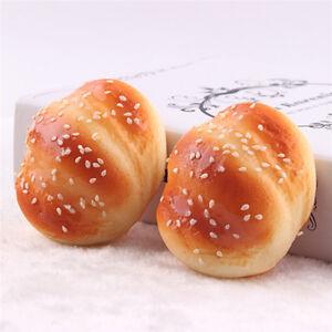 Kawaii Squeeze Buns Toast Bread Cartoon Soft Kids Toy Cellphone StrapYRMO