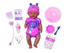 Zapf Creation 824382 - Baby Born - Soft Touch Girl Puppe, braune Augen