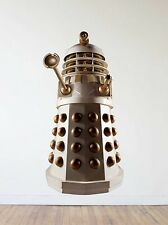 Doctor Who Dalek Repositionable Wall Decal Sticker-Sci-Fi-TV-Gif-Whovian