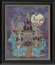 GLENDON PLACE Cross Stitch Pattern Chart CASTLE LE CREEP Halloween