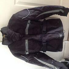Pantalón Cordura acorazado chaqueta de moto-negro de mujer-pequeño -