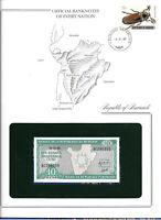 Banknotes of Every Nation Burundi 1986 10 Francs UNC P33b Prefix AC
