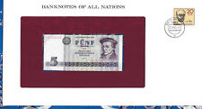 Banknotes of All Nations GDR East Germany 1975 5 Mark UNC P 27a IH003032 Low