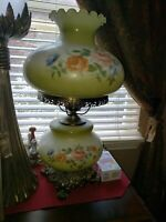 """""""25""""Lamp Gone With the Wind Victorian  Banquet Parlor Antique Electrified Beauty"""