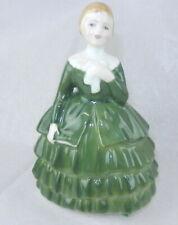 "Royal Doulton 'Belle' Figurine Hn 2340 1967 England 4.75"" Tall Green Dc"