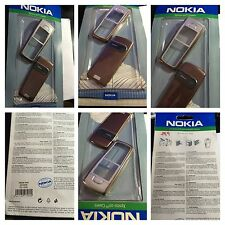 ORIGINALE COVER NOKIA 6230 NUOVA CASE HOUSING ROSSA