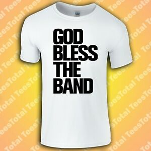 God Bless The Band T-Shirt | The Courteeners | Liam Fray | Not Nineteen Forever
