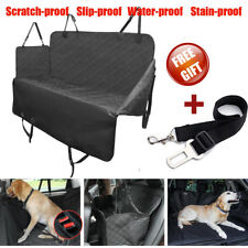 4-Layer Pet Car Back Seat Cover Cat Dog Hammock Protector Mat Blanket Waterproof