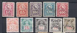 Switzerland Revenue Stamps, ZURICH CANTON