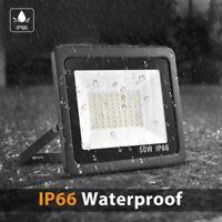 2x 20W LED Flood Light Outdoor Spotlight Cool White 6500K Garden Yard Square US