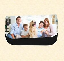 PERSONALISED CUSTOM PRINTED PENCIL CASE / MAKE UP BAG YOUR PICTURE PHOTO GIFT