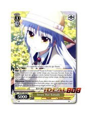 Weiss Schwarz Angel Beats! x 4 Straw Hat Kanade [AB/W31-E025 U] English