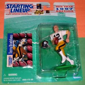 1997 TERRY BRADSHAW Pittsburgh Steelers NM- final Starting Lineup Hill exclusive