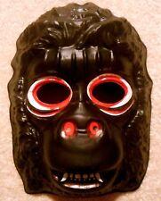NOS Vintage Halloween King Kong GORILLA MONSTER MASK Planet of the Apes U.S.A.