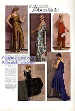 The special evening dress photo illustration 1929 von Gallé Kuschnitzky xc +
