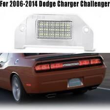 White Led Rear License Plate Light Lamp 18 Smd For Dodge Charger Challenger Dart