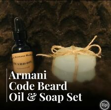 Armani Code Beard Oil & Soap Set
