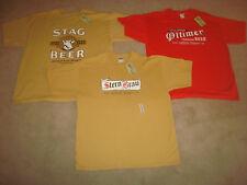 BEER Shirt LOT Stag Griesedieck Oltimer Stern Brau Star Peerless Brewery XL 2XL