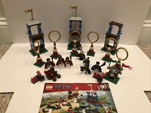Ultimate LEGO Harry Potter 4737 Quidditch Match LOT Complete Set Instructions ++