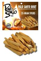 Palo Santo Wood Natural Incense Cleansing 25 Gram 2 - 4 Sticks Pack