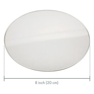 Cake boards  Round Acrylic clear 3mm thick reusable  set of (4)